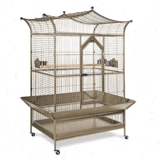 Prevue Hendryx Signature Series Large Royalty Wrought Iron Bird Cage