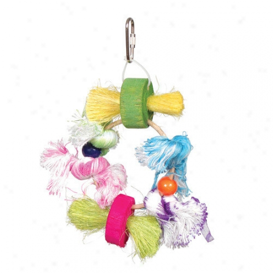Prevue Hendryx Stick Stax Lots Of Knots Small Bird Toy