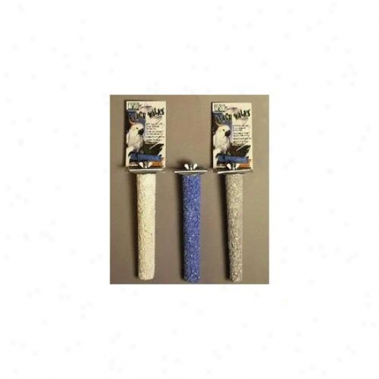 Prevue Pet Products 550-01008 Prevue Pet Products Beach Walk Large Calcium Bird Perch 8 . 50 In
