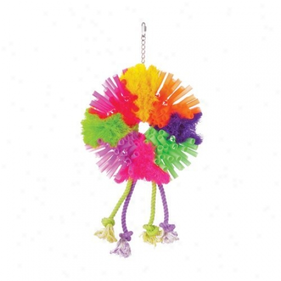 Prevue Pet Products Calypso Creations Spunky Bjrd Toy