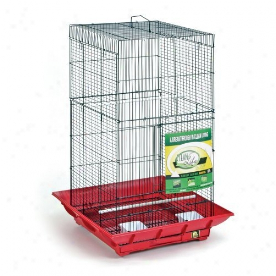 Prevue Pet Products Clean Life Tall Cage - Sp852