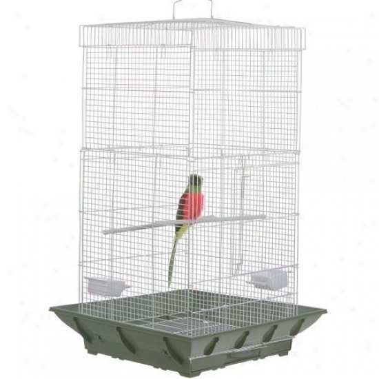 Prevue Pet Proxufts Clean Animated existence Tower Bird Cage Sp852