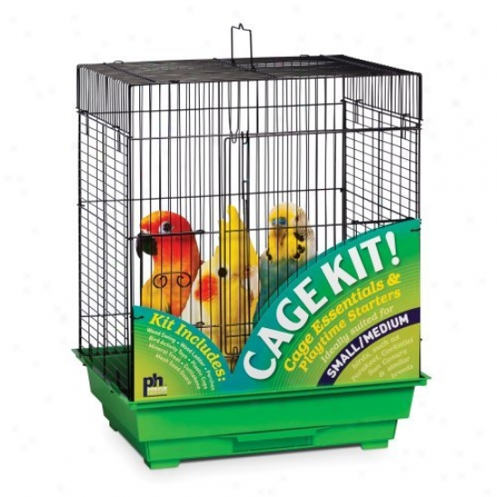 Prevue Pet Products Square TopB ird Cage Kit