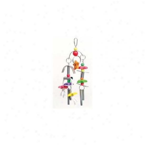 Prevue Pet Products Whirl Chime Time Bird Toy - 62525