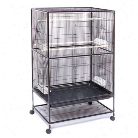 Prevue Pet Products Wrought Iron Flight Cage-large F040