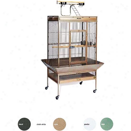 Sage Select Wrought Iron Parrot Bird Cage Box 1