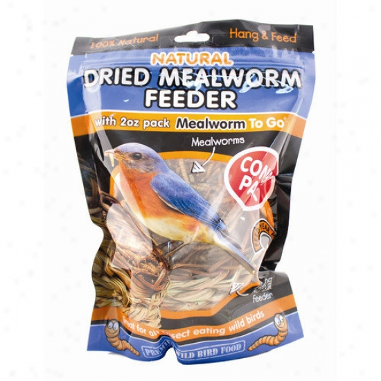 Unipet Usa Dried Mealworm Reed Wild Bird Feeeder