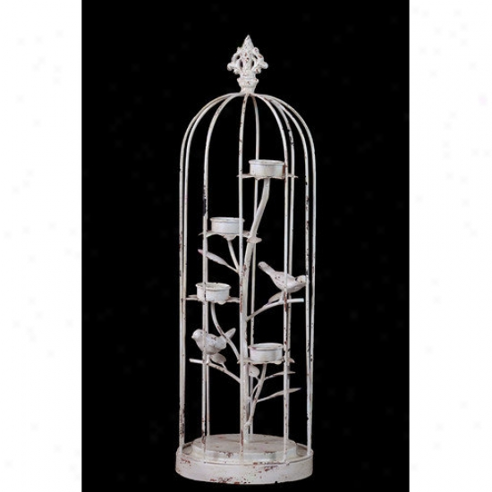 Urban Ttends Metal Bird Cage Decor