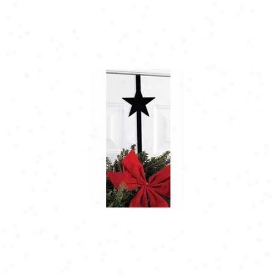 Village Wrought Iron Wre-b-45 Star Wreath Hanger