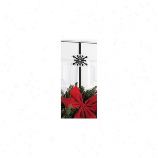 Village Wrought Iron Wre-b-85 Snowflake Wreath Hanger