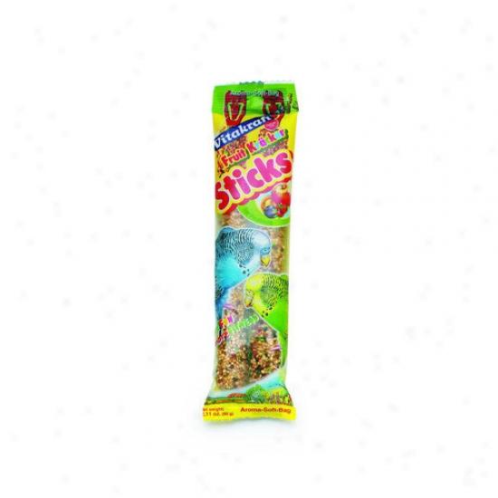 Vitakraft Fruit Sticks Parakeet Treat - 2 Pack