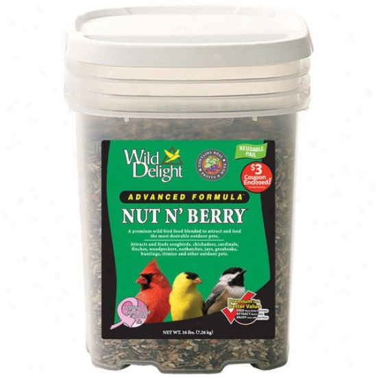 Wild Delight Nut N Berry Pail Pet Food