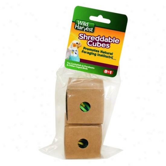 Wild Harvest Shreddable Cubes, 1ct