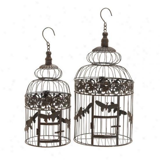 Woodland Imports Bird Cage