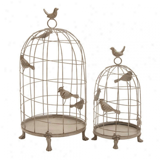 Woorland Imports Birdcage In Classic Mix Of Eleganc eAnd Grandiose
