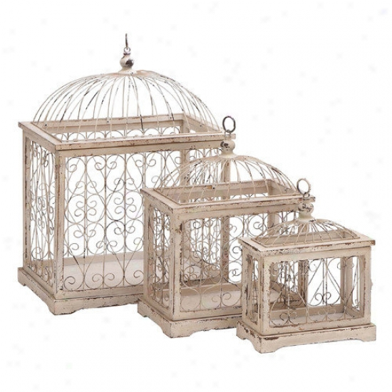 Woods Imports Meral Bird Cage