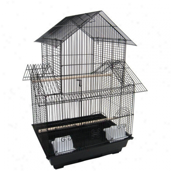 Yml 3/8'' Bar Spacing Trick Roofs Bird Cage