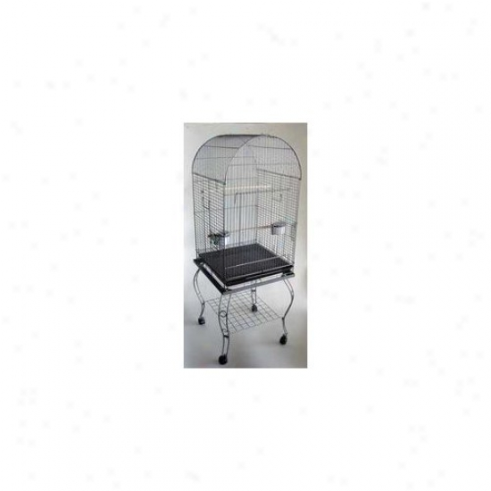 Yml Dome Top Parrot Cage With Stand