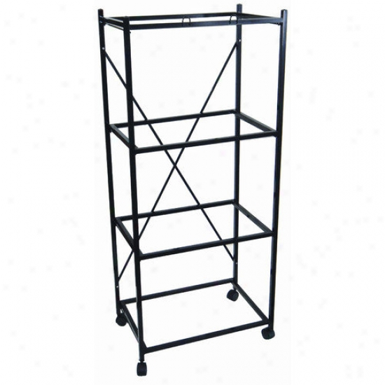 Yml Four Shelf Stand For Small Bird Breeding Cages