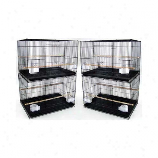 Yml Lot Of Four Mean Bird Breeding Cages