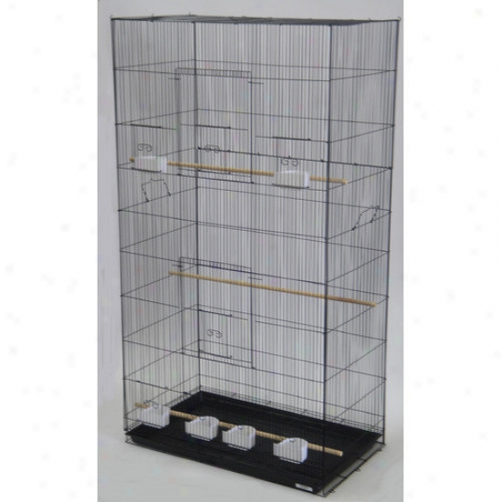 Yml Lot Of Three X-large Bird Breding Cages