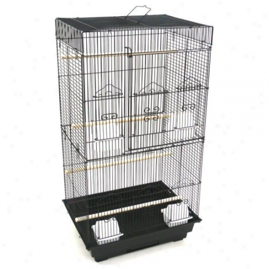 Yml Reese Bird Cage With Optional Rank