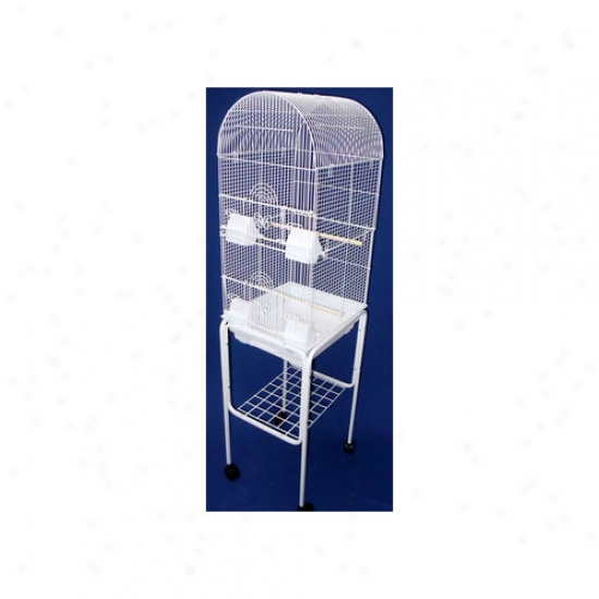 Yml Tall Round 4 Pech Bird Cage With Stand