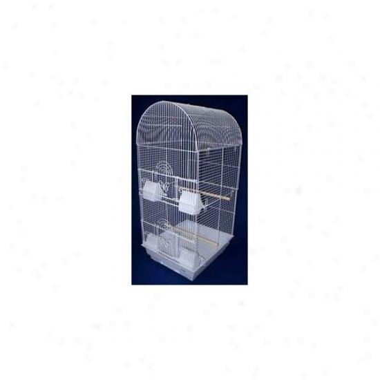 Yml Tall Round 4 Perch Bird Cage