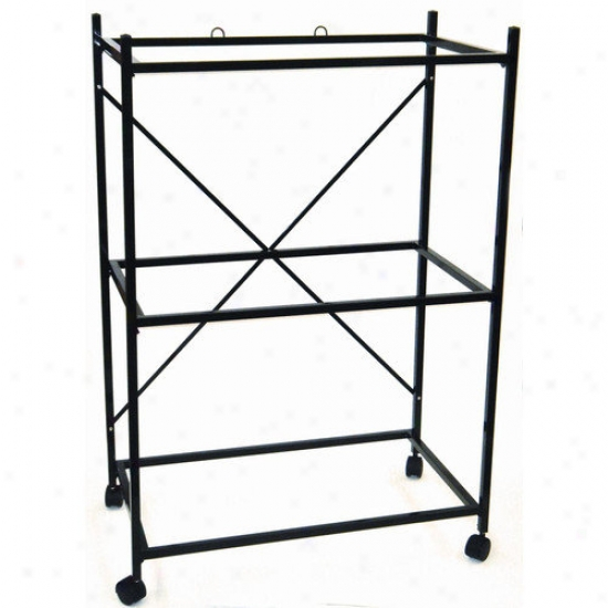 Yml Three Shelf Stand For Medium Bird Breeding Cage