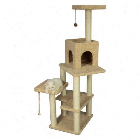 69 In. Armarkat Cat Tree House Condo Furniture - A6902