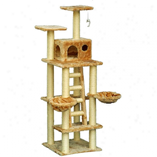 "72"" Majestic Pet Cat Tree"
