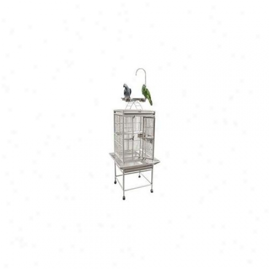 A&e Bird Cages Ae-8001818g Small Play Top Bird Cage - Green
