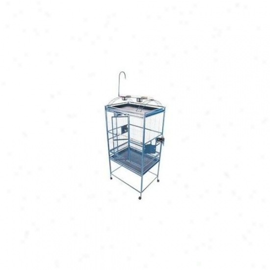 A&e Bird Cages Ae-8003223bl Large Play Top Bird Cage - Blue