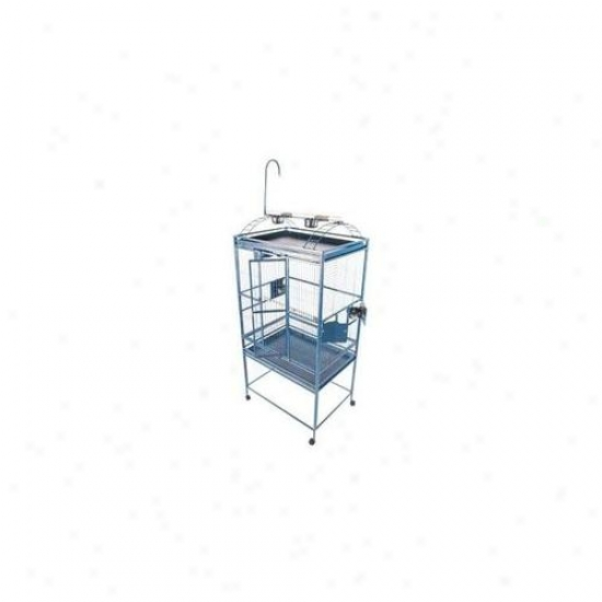 A&e Bird Cages Ae-8003223g Large Liberty of action Top Fowl Cage - Green