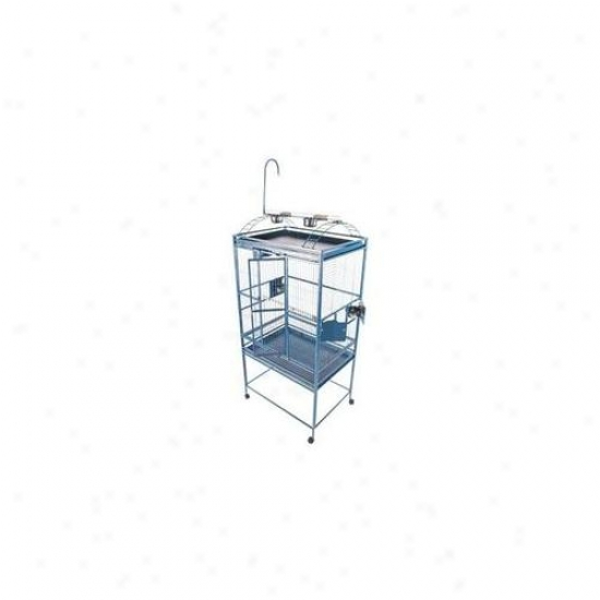 A&e Bird Cages Ae-8003223w Large Play Top Bird Cage - White