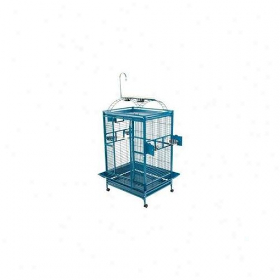A&e Bird Cages Ae-8003628b Extra Large Play Top Bird Cage - Black