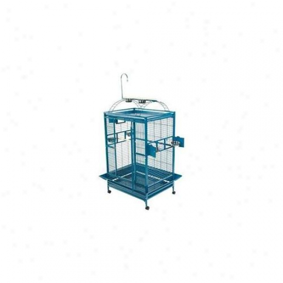 A&e Bird Cages Ae-8003628w Extra Large Play Top Bird Cage - White