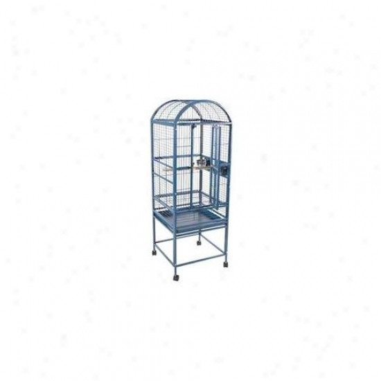 A&e Cages Ae-9001818p High Rise Dome Top Cage - Platinum