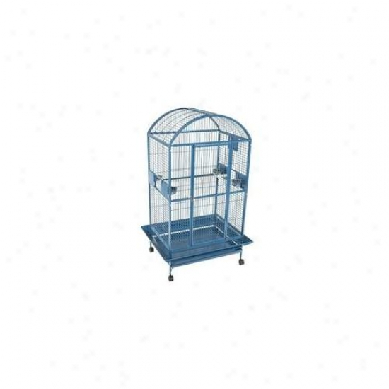 A&e Cages Ae-9003628w Cockatoo Condo Dome Top Cage - White