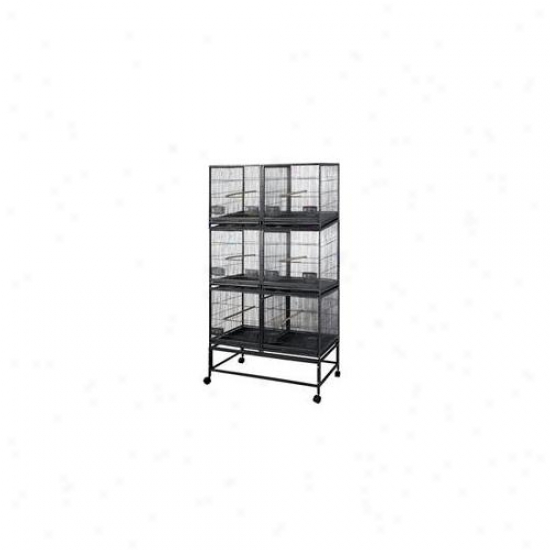 A&e Cages Ae-lor4020-3 Six Unit Brerding Bird Cage