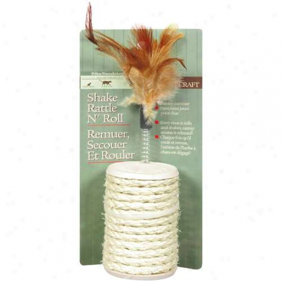 Abc Pet Sisal Rattle Adn Loaf of bread  Cat Toy