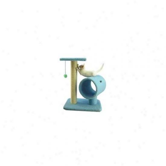 Aeromark B2501 Armarkat Classic Cat Tree 24 X 14 X 26 - Sky Blue