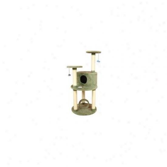 Aeromark X6001 Armarkat Premium Cat Tree 33 X 25 X 60 - Dark Seagreen