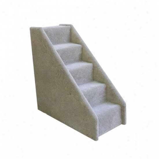 Animal Stuff Bear's Stairs  Five-step Mini Carpeted Pet Stairs