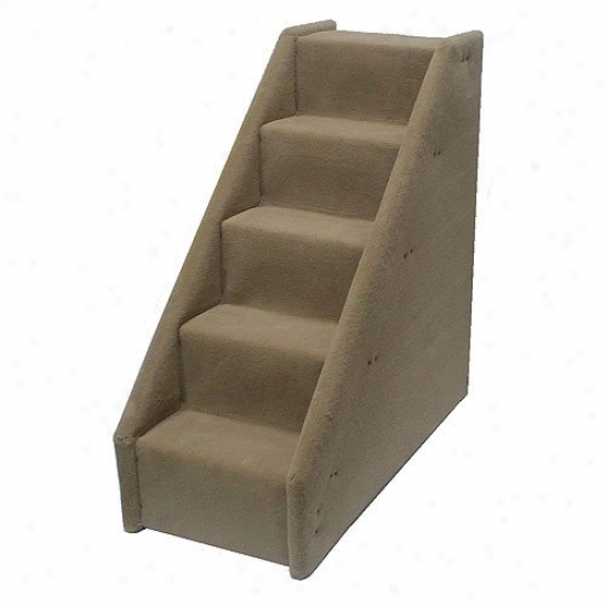 Animal Sruff Bear's Stairs  Five-step Mini Value Equator Pet Stairs In Beige
