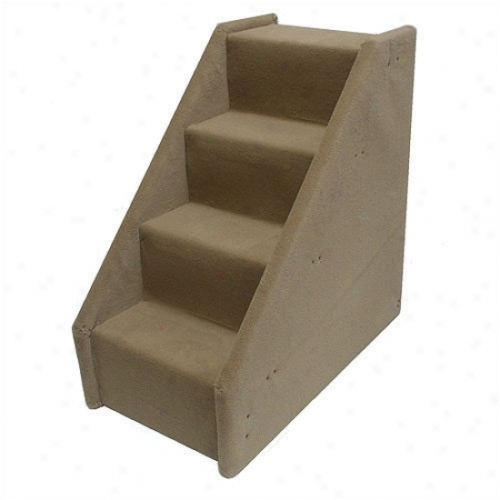 Animal Stuff Bear's Stairs  Four-step Mini Value Line Pet Stairs In Beige