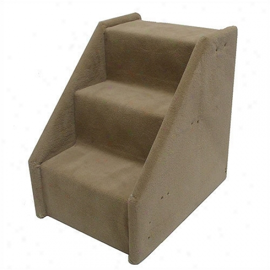 Animal Mixture Bear's Stairs  Three-step Mini Value Line Pet Stairs In Beige