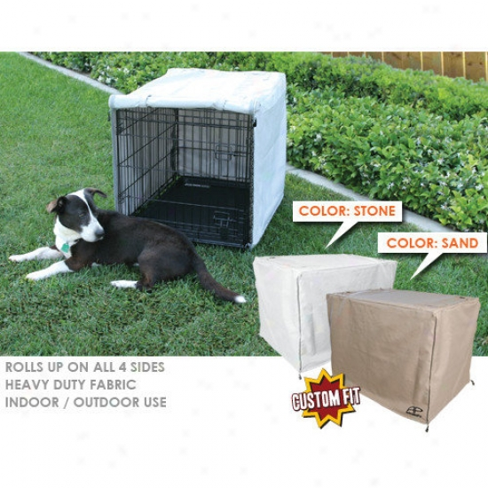 Animated ePt Midwest Select 3-door Dog Crate Cover