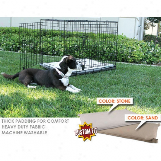 Animated Pet Midwest Seleft 3-door Dog Crate Pad