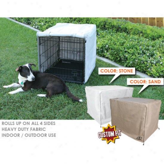 Animated Pet Exactness Numerous Crate 3-door Dog Crate Cover